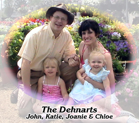 the Dehnart family at CrossTimber